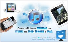 Learn how to add your favorites songs on iPod iPhone and iPad.