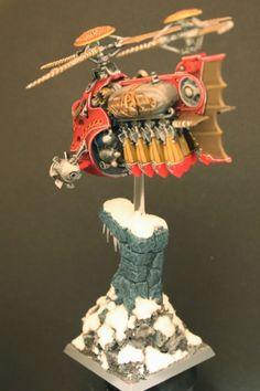 Warhammer Dwarfs Gyrobomber