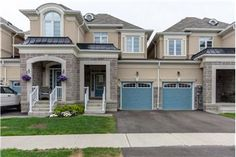 Stunning Townhome Only 3 Years Old Just Steps From The Credit River! Beautiful Stone Covered Porch To Enjoy Your Coffee! Hardwood Floors On Main Level. Open Concept Great Room & Kitchen Has Upgraded Cabinets, Breakfas. Open Concept Great Room, Home List, Great Rooms, Townhouse, Hardwood Floors, Mansions, House Styles, Home Decor, Wood Floors Plus
