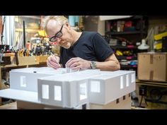 Adam Savage's One Day Builds: Foamcore House! - YouTube