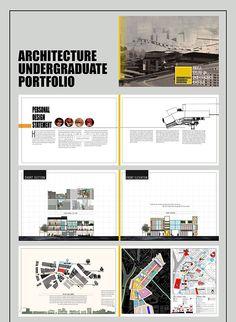 BEHANCE ARCHITECTURE UNDERGRADUATE PORTFOLIO on Behance