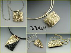 This is a comprehensive tutorial on how to build basic pendants out of polymer clay and simple jewelry findings. It consists of 30 pages and 60 photographs of clear, step by step instructions on how to construct a beautifully crafted pendant in just minutes. The techniques you learn