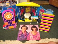 Vintage Donny and Marie stage play set Toys-Character