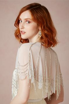 Trickling Capelet from BHLDN