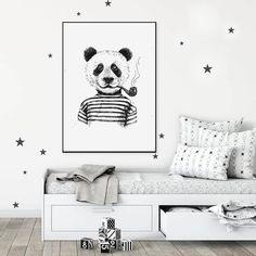 Nursery Wall Decor Printables Panda Print Animal Wall Art | Etsy Kids Decor, Decor Ideas, Room Ideas, Gift Ideas, Home Decor, Nursery Wall Decor, Nursery Room, Advertising And Promotion, Advertise Your Business