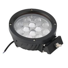 92.40$  Buy here - http://ali50u.worldwells.pw/go.php?t=32756530796 - 2016 High Quality 1PC Round 12V 60W 15 LED Work Light Spot Beam 4WD Truck Lamp Off-road Driving spotlight / astigmatism 92.40$