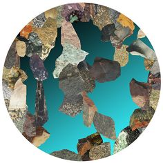 rock - reminds me of mineralogy and petrology class