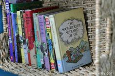 Use #Storage #Baskets To Make A #Bookshelf Wall via http://lifeovereasy.com/ #DIY #giveaway