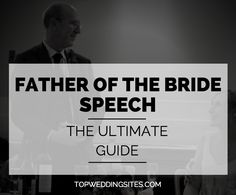 Traditionally, the bride& father speaks first. Our guide to the perfect father of the bride speech is chock full of great advice and ideas. Father Of Bride Speech, Maid Of Honor Speech, Father Of The Bride Attire, Groom's Speech, Best Man Speech, Groom Speech Examples, Wedding Toast Samples, Best Man Wedding Speeches, Wedding Toasts