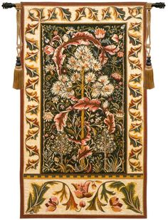 Acanthus I French Wall Tapestry