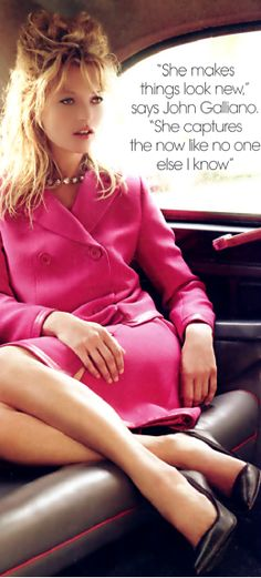 Glamorous Girly Girl | Kate Moss Via  ~LadyLuxury~