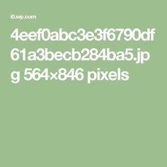 4eef0abc3e3f6790df61a3becb284ba5.jpg 564×846 pixels