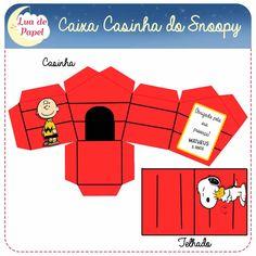 Caixa Casinha Turma do Snoopy