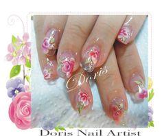 rosses nail art