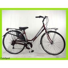 Donna CicloSport DEA 28 Alluminio 6V Shimano Amaranto