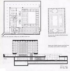 Beinecke Library Bunshaft Som Case Studies
