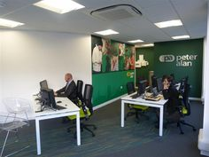 Our staff working hard in Cathays branch, Cardiff