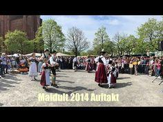 Auftakt Maidult 2015 - Eröffnung mit Volkstanz am 25.04.2015  (Auer Dult...