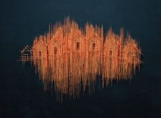 Architectural Sculptures by David Moreno Look Like Drawn Pencil Sketches