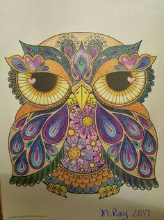 Bird Coloring Pages, Colouring, Owl Stencil, Owl Artwork, Whimsical Owl, Paper Owls, Owl Pictures, Owl Crafts, Owl Bird