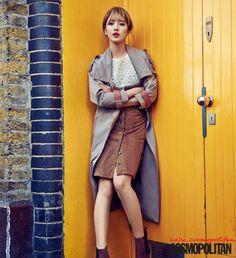 Miss A 'Bae Suzy' Cosmopolitan Magazine April 2015