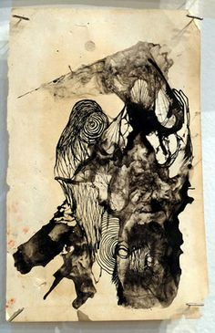 """Zero Cents Mid Summers Day Dreamer ink on paper, 9"""" 5.5"""""""