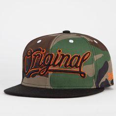05ba8890d87 KR3W Original Camo Mens Snapback Hat ( 24) ❤ liked on Polyvore Snap Backs