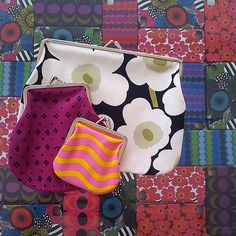 Marimekko established in Diy Clutch, Fabulous Dresses, Marimekko, Helsinki, Finland, Print Patterns, Cool Designs, Backpack, History