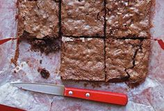 Katharine Hepburn Brownies Recipe (Who knew Katharine Hepburn was as agile at baking as acting? These chocolate fudge brownies make us think maybe she missed her true calling.)