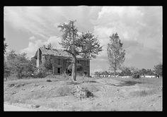 Old stage coach tavern near Huntsville, Arkansas,
