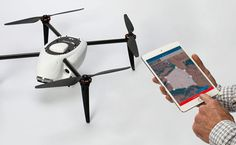 Kespry designs an automated commercial drone that includes a quadcopter UAV with obstacle avoidance, plus flight control box, mobile app, iPad and integrated Kespry Cloud reporting system.
