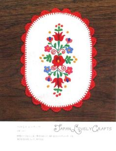 Kawaii Hungarian Embroidery - Japanese Pattern Book for Hungary Stitch - Traditional Floral Design - B1183. $28.50, via Etsy.