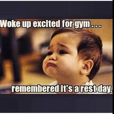The body needs healing. But I'll definitely fit in some yoga stretching tonight. Yall mane sure to make today ahhhhh-mazzzzzing. Rest Day Humor, Rest Day Quotes, Workout Memes, Gym Memes, Funny Memes, Jokes, Rest Day Workouts, Bodybuilding Memes, Female Bodybuilding