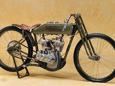1917 Harley-Davidson Model T Factory V-Twin Racer, restored by R.I.Jones