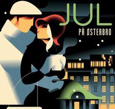 Mads Berg Art Deco Illustrations