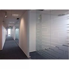 Calgary window frosting and glass etching services including design manufacturing and installation of decorative and privacy translucent vinyl film pearl silver etch frosting for offices in Calgary Glass Etching Designs, Dental Office Decor, Name Design, Window Film, Glass Film, Vinyl Designs, Windows And Doors, Glass Door, Light Fixtures
