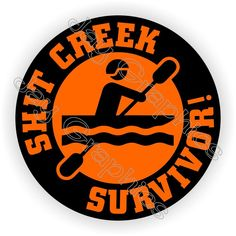 Helmet Decal Label Lunch Tool Box Motorcycle Laborer $hit Creek Survivor Hard Hat