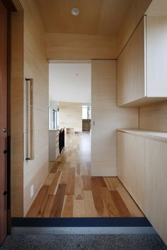 Hourglass is a minimalist residence located in Gunma, Japan, designed by Studio LOOP. House Doors, Garage Doors, My House Plans, Windows And Doors, Minimalist, Architecture, Storage, Building, Outdoor Decor