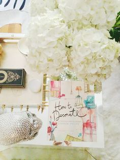 In the details: 6 places to style your home for a happy life (The Decorista) Coffee Table Styling, Home Decor Inspiration, Workspace Inspiration, Vignettes, Home Projects, Home Remodeling, Sweet Home, Place Card Holders, House Design