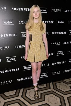 2010 - Style Evolution: Elle Fanning - Photos