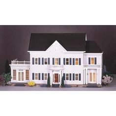 Greenleaf Dollhouses Glencroft Dollhouse Kit | Wayfair