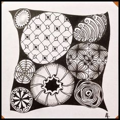 Tangled Tuesday No. 75 - blog post by Laurel Regan at Alphabet Salad.