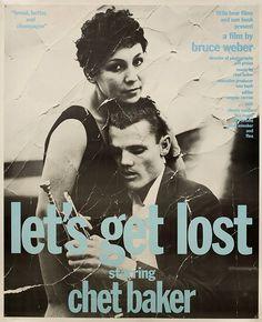 Let's Get Lost 1989 U.S. Poster