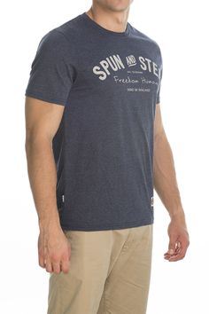 T-shirt Main; dark blue.