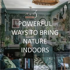 3-powerful-ways-to-bring-nature-indoors-smellacloud-diffuser-essential-oil Dark Green Kitchen, Wood Wallpaper, Cabins In The Woods, Essential Oil Diffuser, Blue Green, Bring It On, Indoor, Nature, Timber Wall Panels