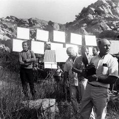 Star Trek behind the scenes on location