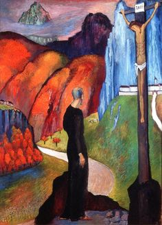 Marianne von Werefkin  The Monk, 1932