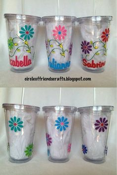 Pin By Cathy Minich On Tumbler Ideas Pinterest Vinyl Designs - Vinyl cup designs