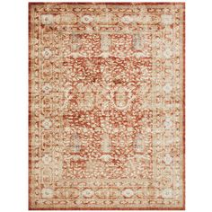 Part of the Magnolia Home Collection by Joanna Gaines, the Trinity Rug offers exceptional durability and style to any room. Power-loomed of 100% polypropylene, it features a traditional design and weathered appearance. Plus, it looks great under any number of Pier 1 pieces.