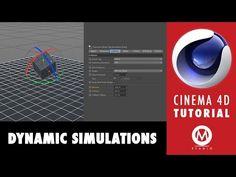 Learn Dynamics in Cinema 4D in 3 minutes - YouTube